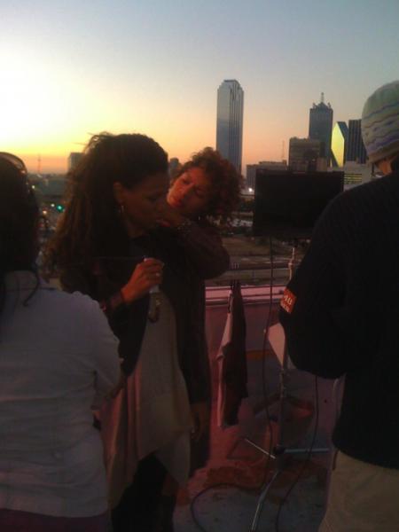 Priscilla and Dallas Skyline