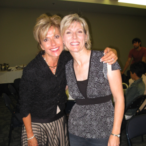 Beth Moore and Rachel