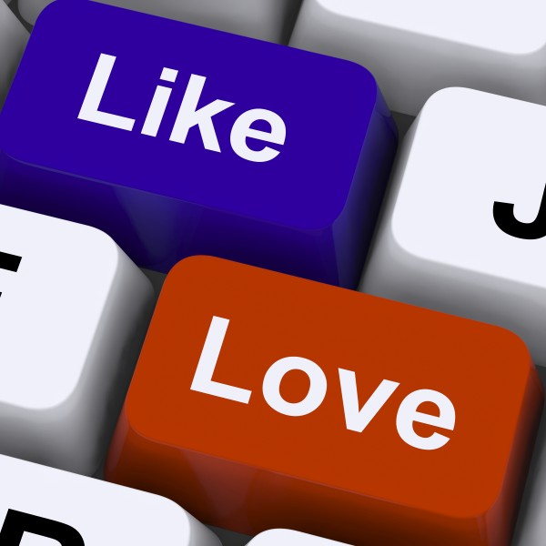 like love button