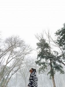 Michone' in snow