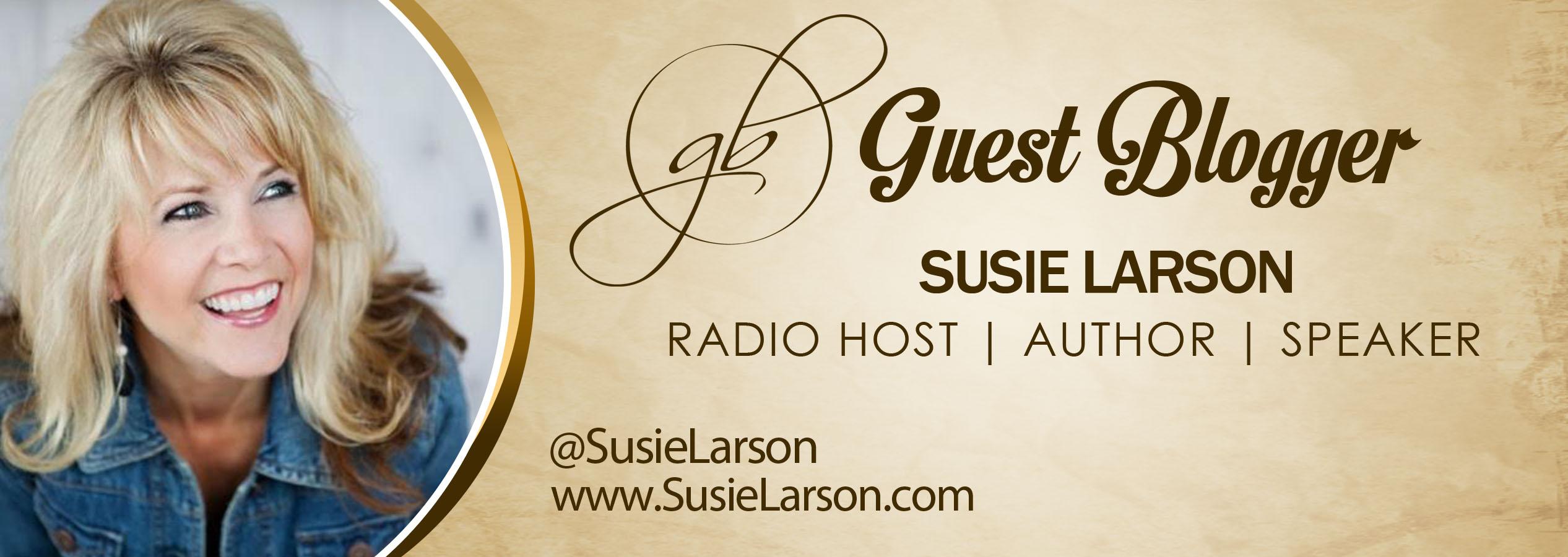 Susie Larson Banner