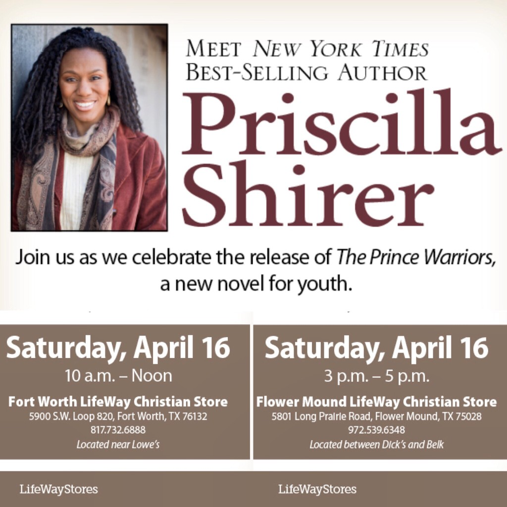 Prince Warriors Book Release - TX