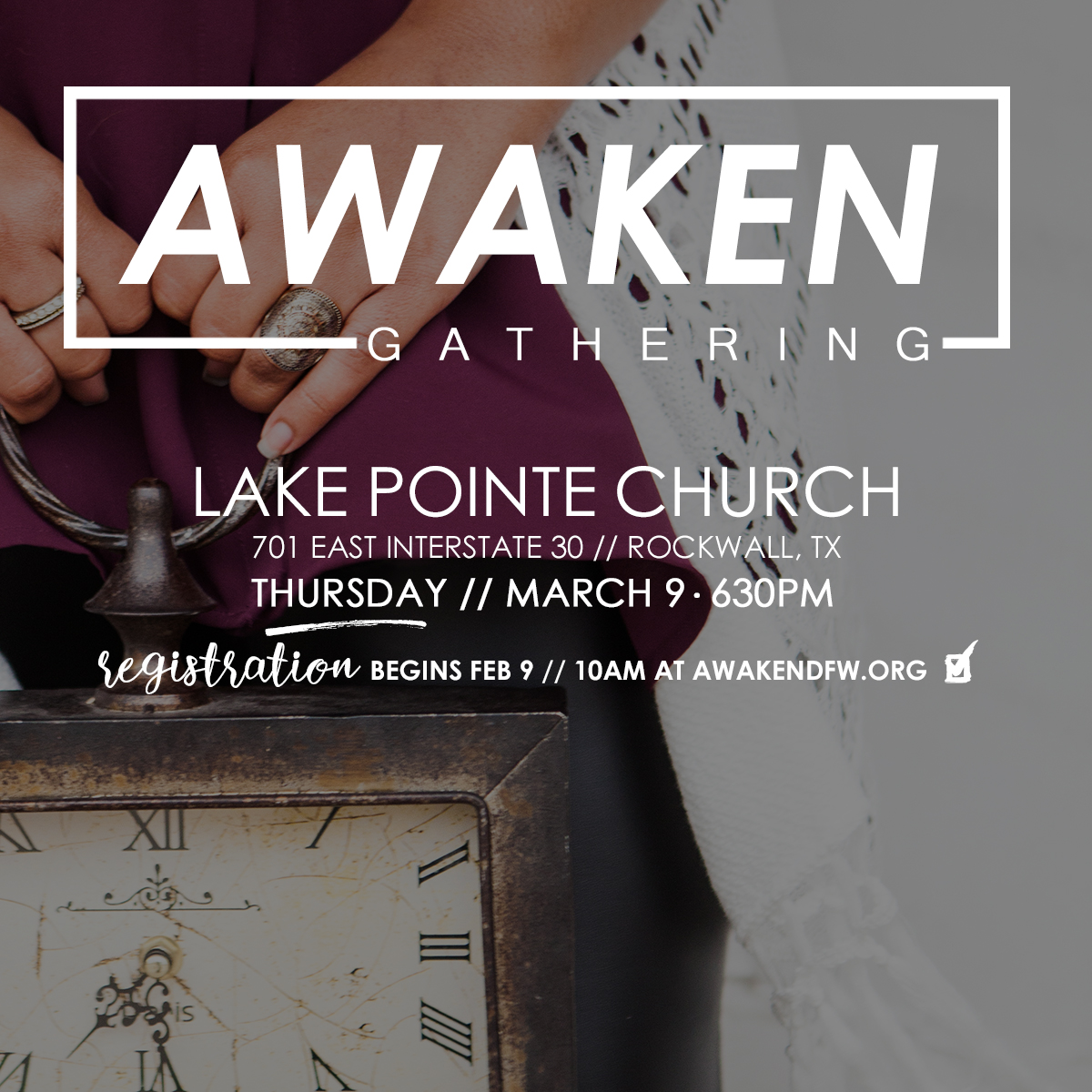AWAKEN - Social Media Square - Lake Pointe